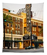Saenger Theatre New Orleans Paint 2 Tapestry