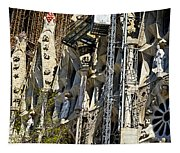 Sagrada Familia - Barcelona Spain Tapestry