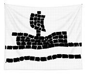 Sail Boat Tapestry
