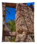Sandstone Arch Jerome Black And White Tapestry