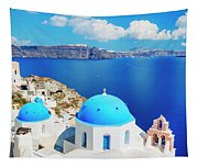 Santorini Island, Greece, Beautiful Tapestry