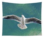 10427 Seagull In Flight Tapestry