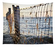 Seaside Nets Tapestry