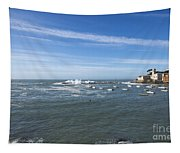 Sestri Levante With The Sea Tapestry
