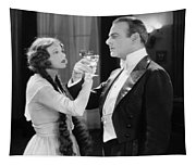 Silent Film Still: Drinking Tapestry
