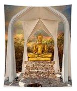 Sitting Buddha Tapestry