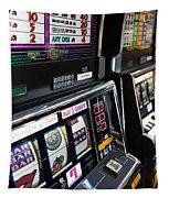Slot Machines At An Airport, Mccarran Tapestry