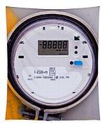 Smart Grid Residential Digital Power Supply Meter Tapestry