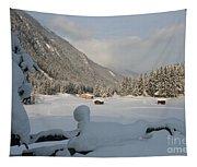 Snowed Under Tapestry