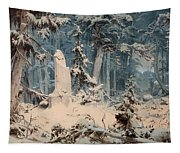 Snowy Forest Tapestry