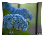 Soft Blue Hydrangea Tapestry
