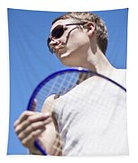 Sporting A Racquet Tapestry