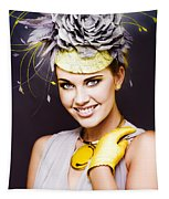 Spring Carnival Beauty Tapestry