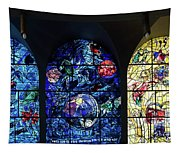 Stained Glass Chagall Windows Tapestry