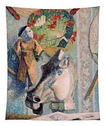 Still Life With Horse's Head Tapestry