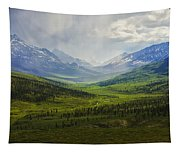 Storm Clouds Over The Klondike Valley Tapestry