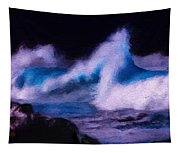 Storm Surge Tapestry
