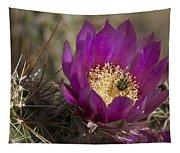 Strawberry Hedgehog Flower Tapestry
