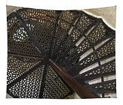Sturgeon Point Lighthouse Spiral Staircase Tapestry