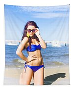 Sun Sand And Sea Leisure Tapestry