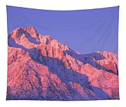 Sunrise At 14,494 Feet, Mount Whitney Tapestry