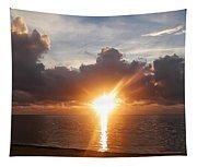 Sunrise In Cancun Tapestry
