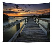 Sunset At Wildcat Cove Tapestry