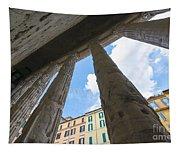 Tempio Di Adriano Tapestry