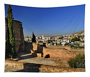 The Alhambra Palace Cubo Tower Tapestry