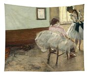 The Dance Lesson Tapestry