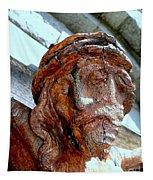 The Face Of Christ Tapestry