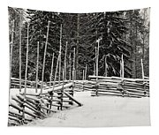 The Fence Of Kovero Tapestry
