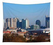 The Nashville Skyline As Viewed Tapestry