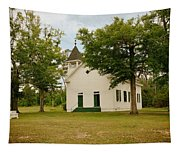 The Old Country Church Tapestry