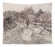 The Olive Trees Tapestry