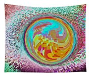 The Orb Art Tapestry