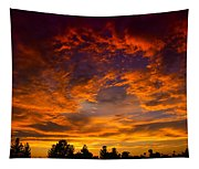 The Sky Is On Fire  Tapestry