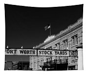 The Stock Yards Of Fort Worth Tapestry