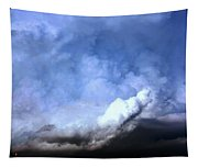 There Be A Storm A Brewin In Nebraska Tapestry