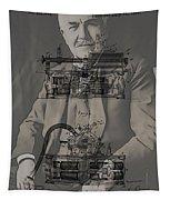 Thomas Edison's Phonograph Tapestry