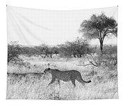 Three Cheetahs At Mashatu Tapestry