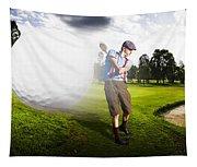 Top Flight Golf Tapestry