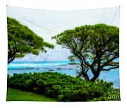 Turtle Bay View Tapestry