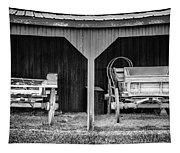 Two Carts Tapestry