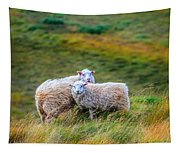 Two Sheep Tapestry