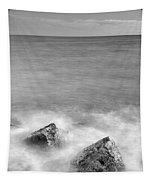 Two Stones Mono Tapestry