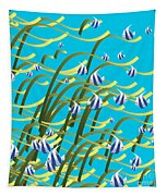 Underwater Life Tapestry