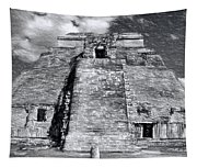 Uxmal Drawing Tapestry
