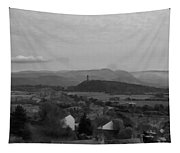View Of Wallace Monument And Surrounding Areas Tapestry