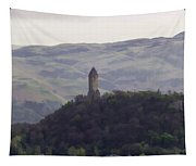 View Of Wallace Monument From The Heights Of The Stirling Castle Tapestry